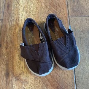 Toms Toddler T5 Brown Classic Shoes